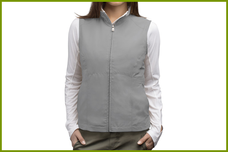 ScotteVest RFID Travel Vest for Women; Courtesy of ScotteVest