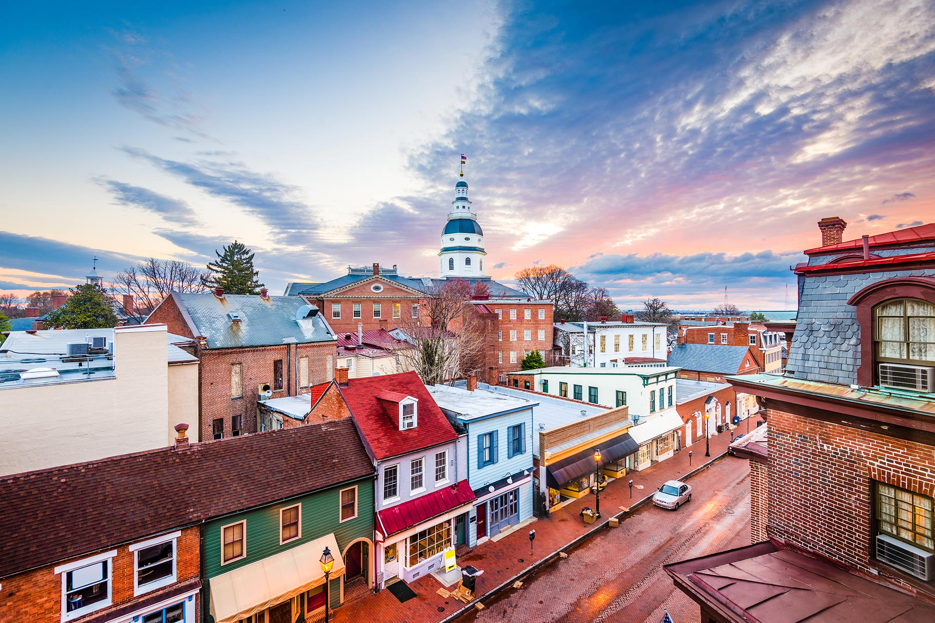 Annapolis, Maryland; Photo Courtesy of Sean Pavone/Shutterstock.com