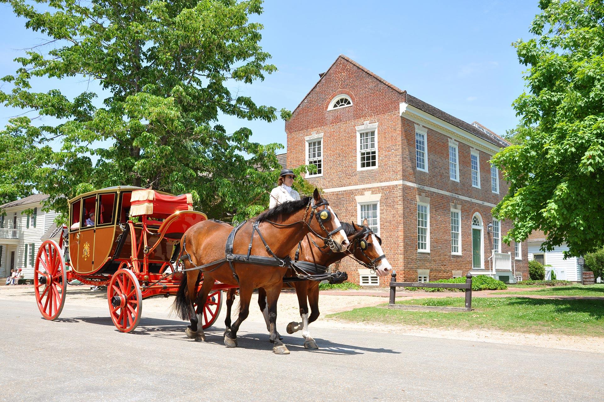 Colonial Williamsburg in Virginia; Photo Courtesy of jiawangkun/Shutterstock.com
