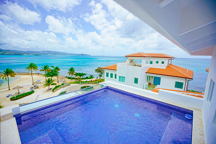 Suite With Private Pool at Windjammer Landing in St. Lucia