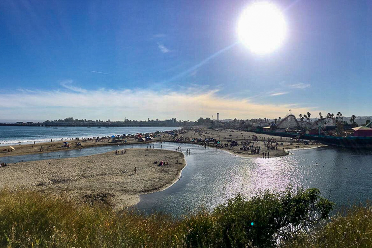 Main Beach Santa Cruz; Courtesy Tripadvisor Travele/24sportstv