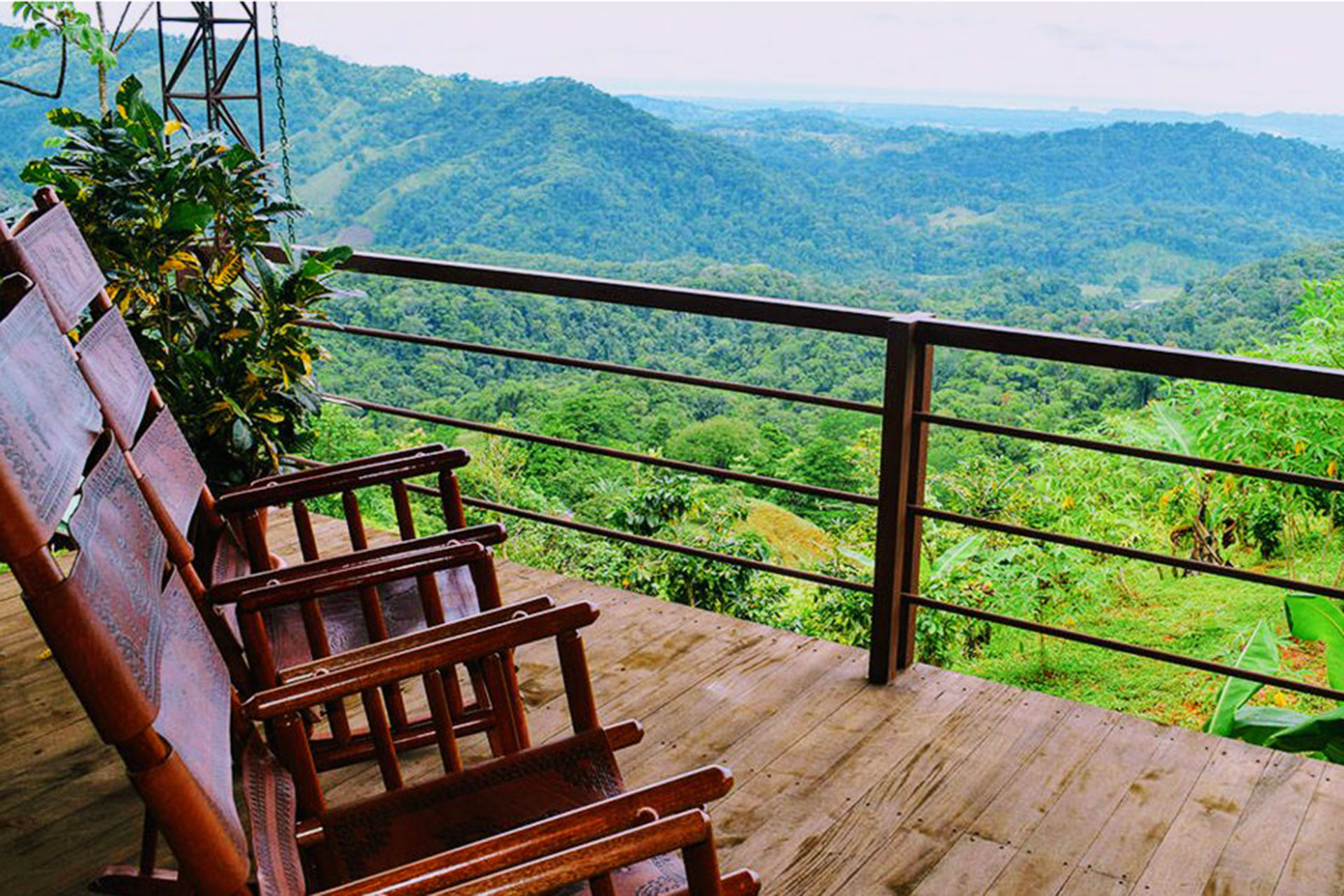 View from Treehouse at Santa Juana Lodge in Costa Rica; Courtesy of Santa Juana Lodge