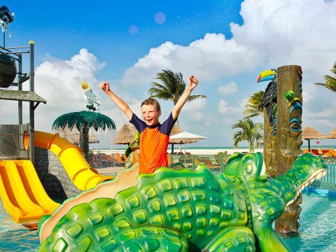 Moon Palace Cancun Water Park; Courtesy of Moon Palace Cancun
