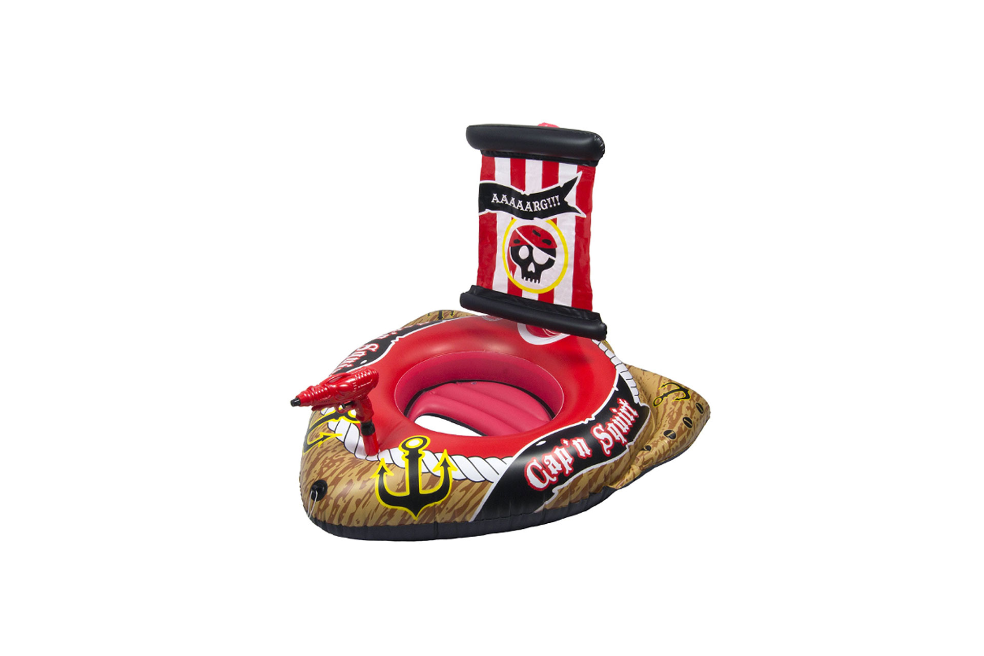 Poolmaster Pirate Ship with Action Squirter; Courtesy of Amazon