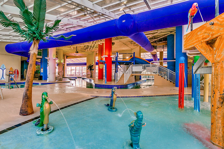 Water Park at Dunes Village Resort in Myrtle Beach, SC