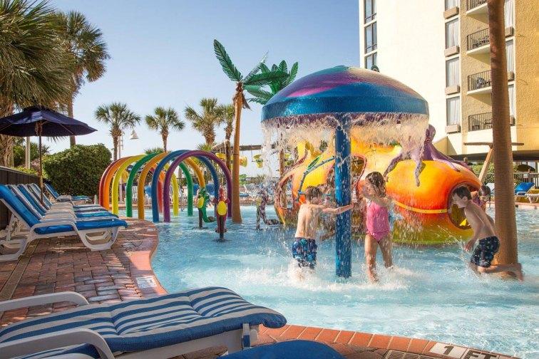 Water Park at Sea Crest Oceanfront Resort in Myrtle Beach