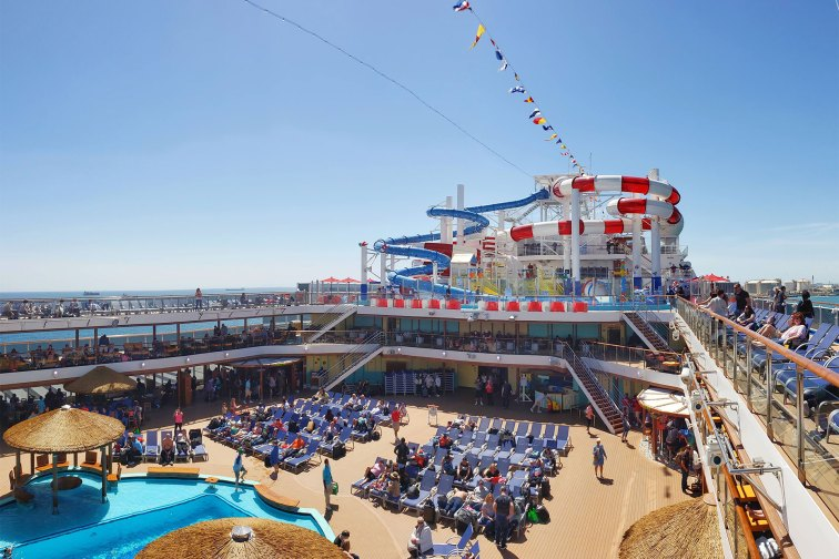 Dr. Deuss Waterworks on Carnival Cruise Line
