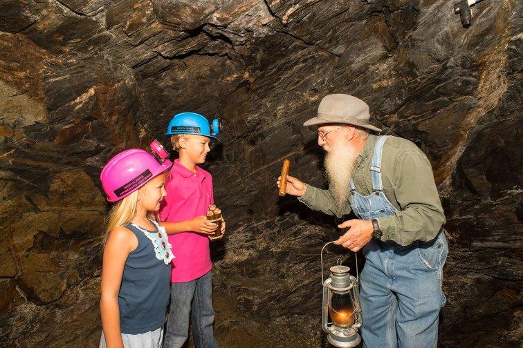 Gold Mining in Dahlonega, Georgia; Courtesy of Dahlonega-Lumpkin County Chamber & Visitors Bureau
