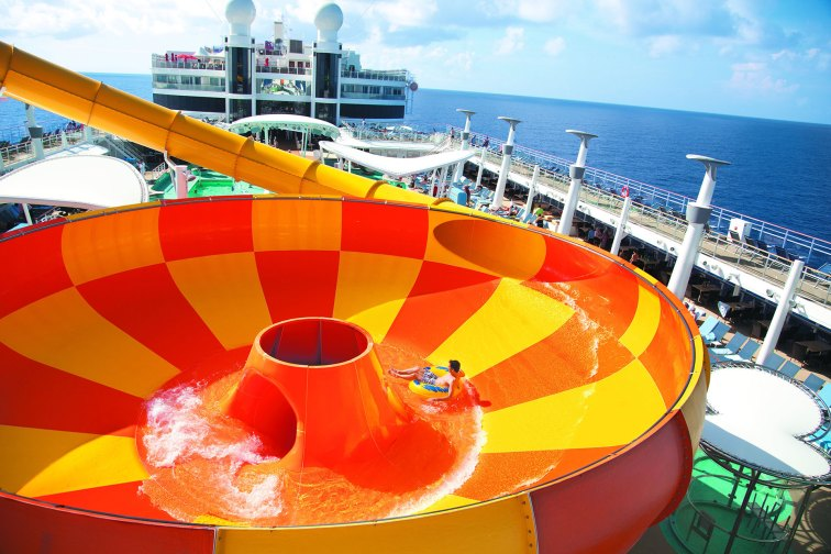 Epic Plunge on Norwegian Cruise Line