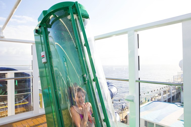 Free Fall on Norwegian Cruise Line