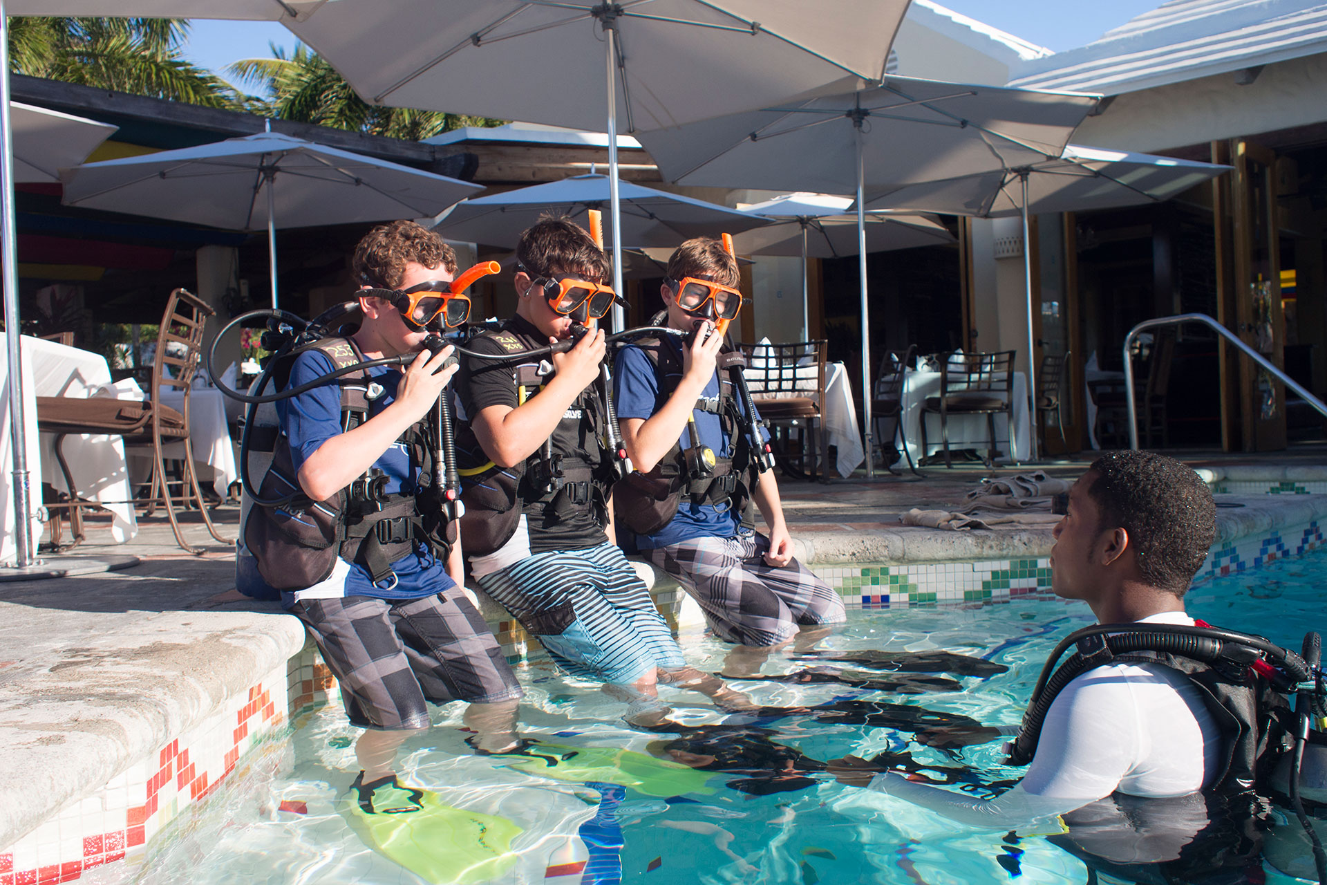 Scuba Diving Lessons at Beaches Turks and Caicos; Courtesy of Beaches and Turks and Caicos