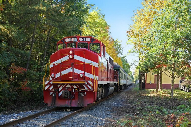 Green Mountain Railroad in Vermont