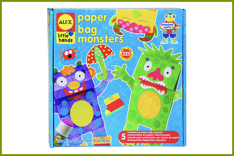 ALEX Toys Little Hands Paper Bag Monsters; Courtesy of Amazon