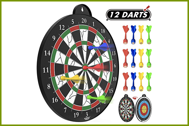 Magnetic Dart Board; Courtesy of Amazon