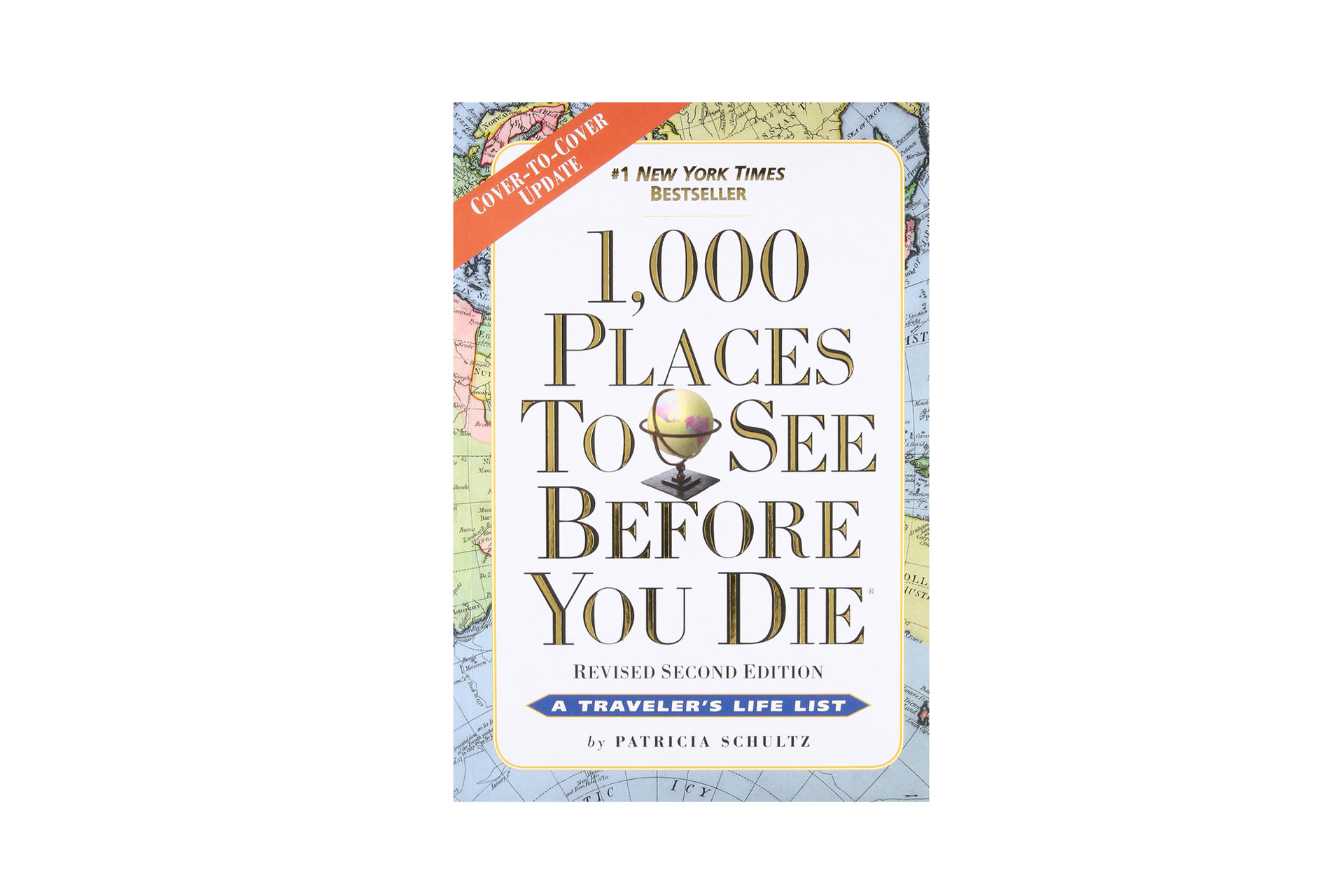 1,000 Places to See Before You Die Book; Courtesy of Amazon