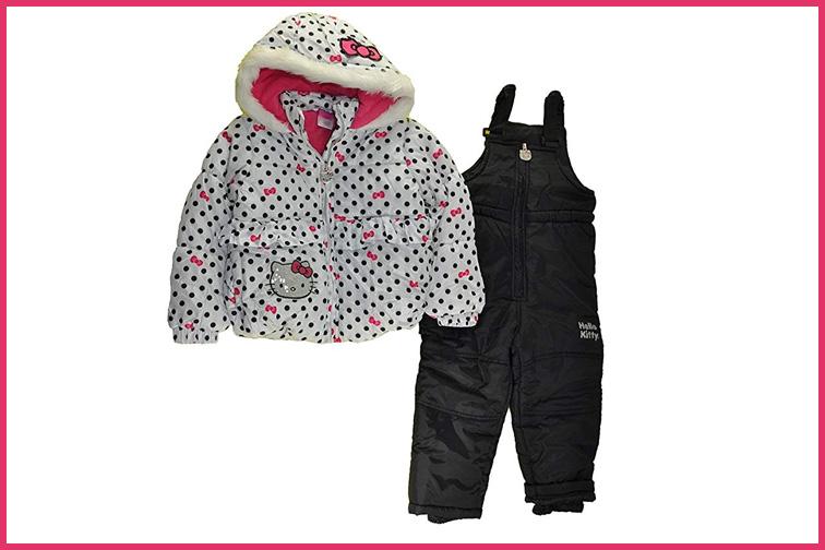 Hello Kitty Girls Snowsuits; Courtesy of Amazon