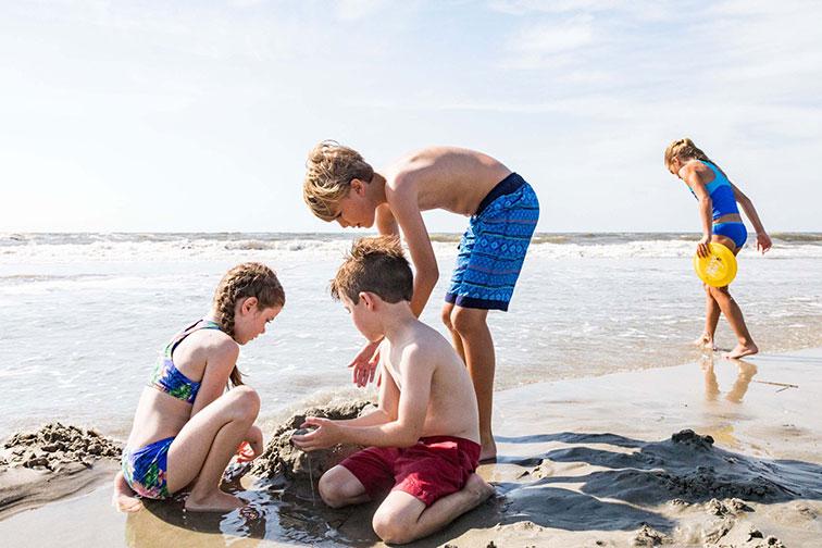 Kids at Wild Dunes Resort in South Carolina