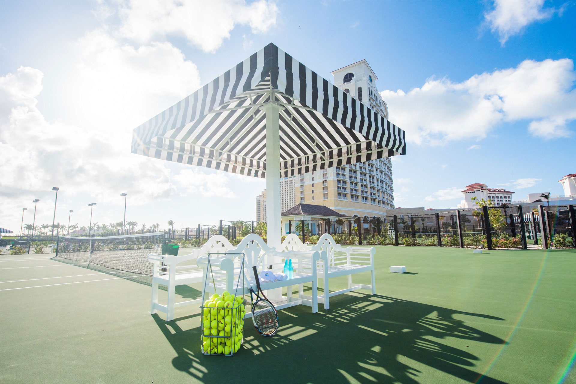 Baha Mar Tennis; Courtesy of Baha Mar Resort