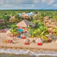 Aerial View of Belizean Dreams Resort; Courtesy of Belizean Dreams Resort