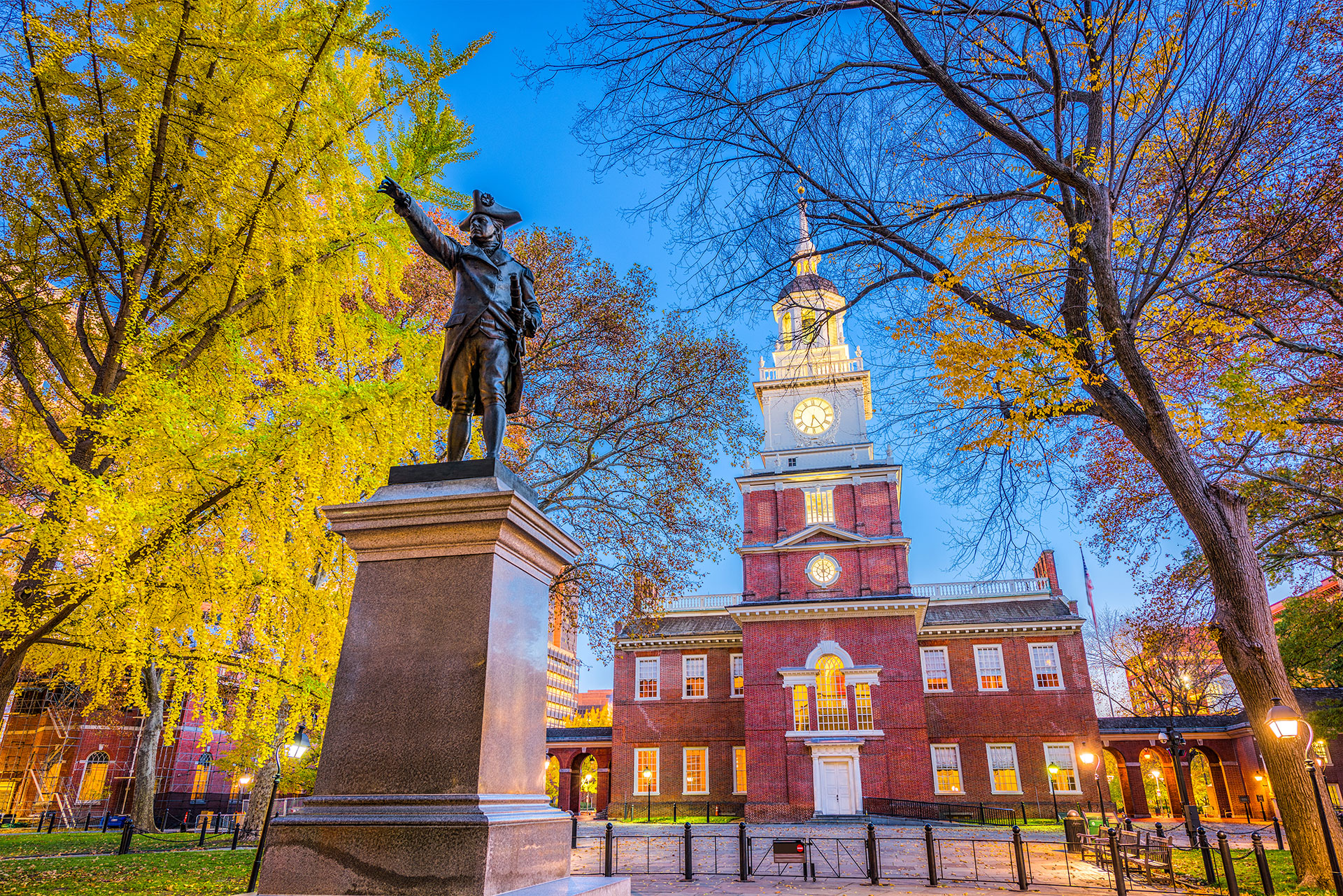 Independence Hall in Philadelphia; Courtesy of Sean Pavone/Shutterstock.com