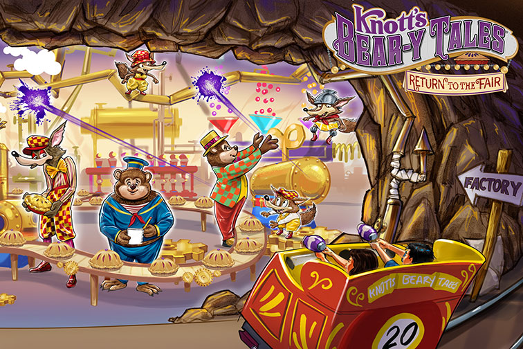Knott's Bear-y Tales: Return to the Fair at Knott's Berry Farm