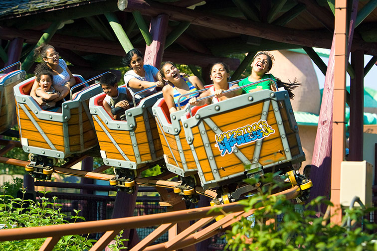 Camp Snoopy at Michigan's Adventure
