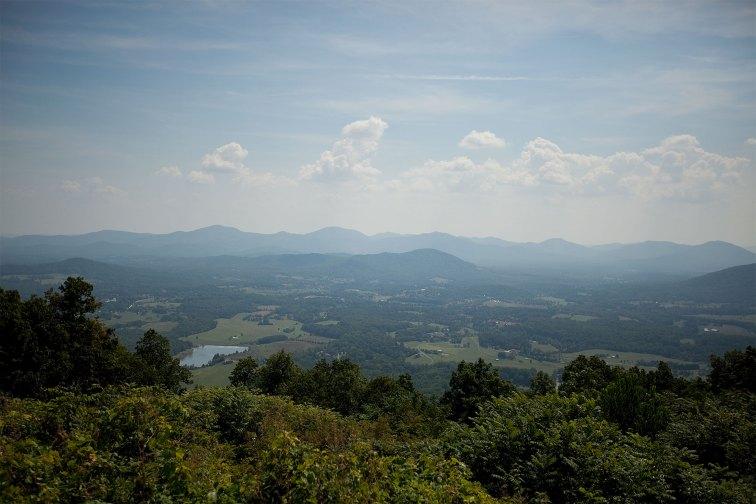 Views at Big Meadows Lodge in Virginia; Courtesy of Big Meadows Lodge