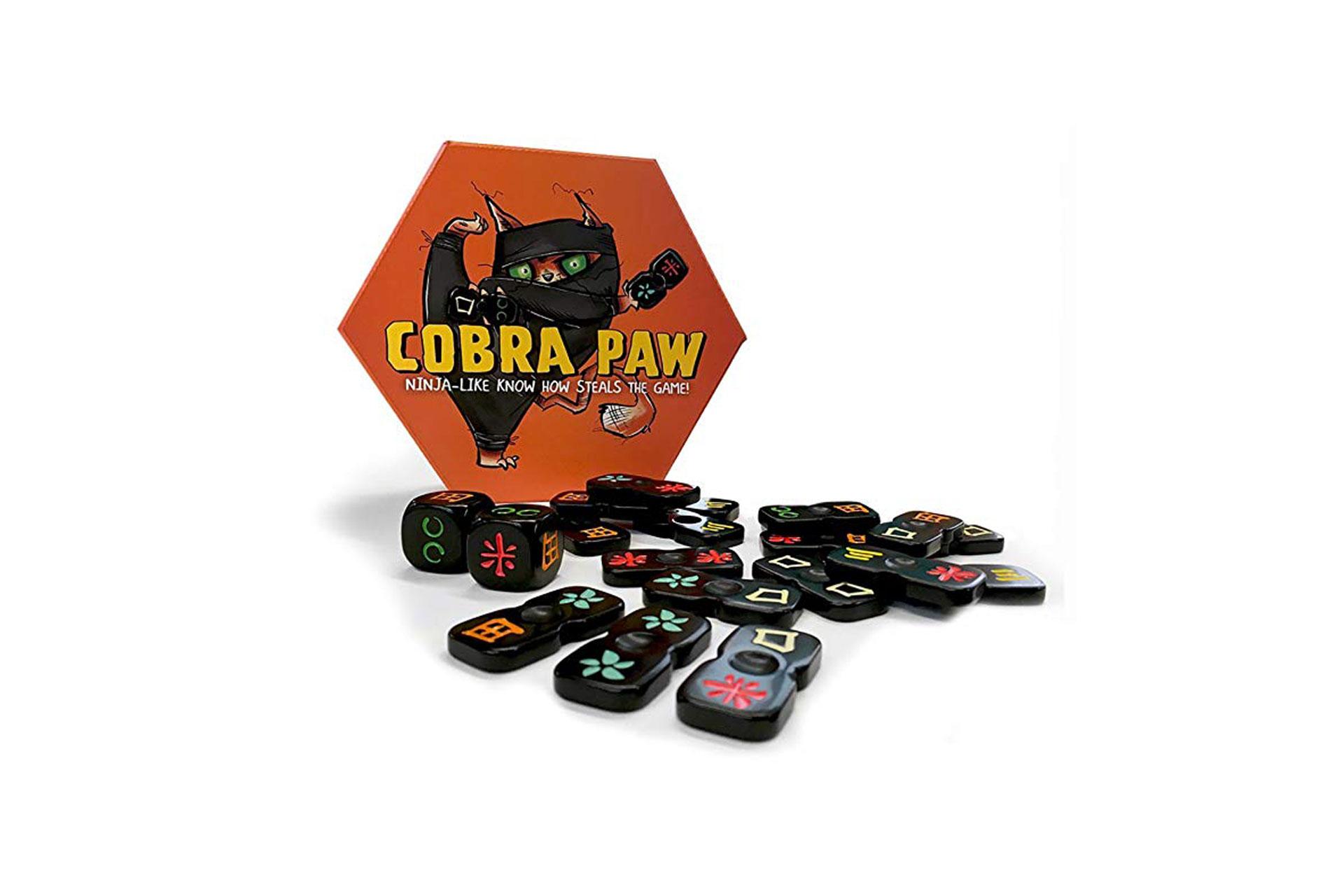 Cobra Paw Travel Game; Courtesy of Amazon