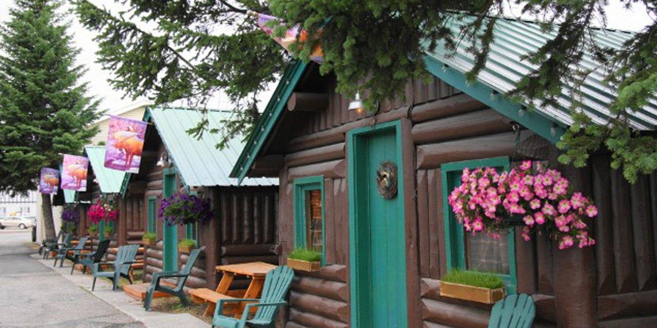 Cabins at Moose Creek Cabins; Courtesy of Moose Creek Cabins