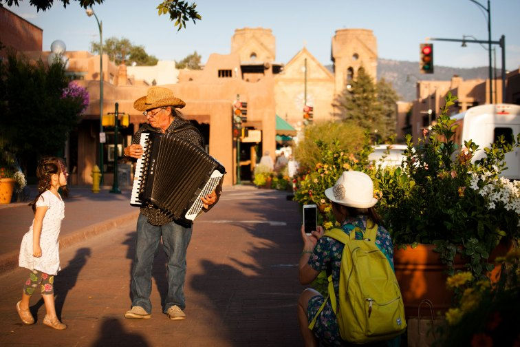 Santa Fe, New Mexico; Courtesy of Visit Santa Fe