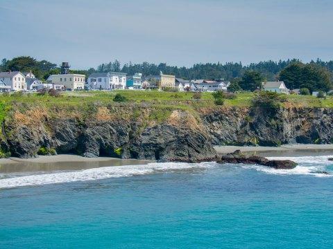 Mendocino, California; Courtesy of picchu productions/Shutterstock.com