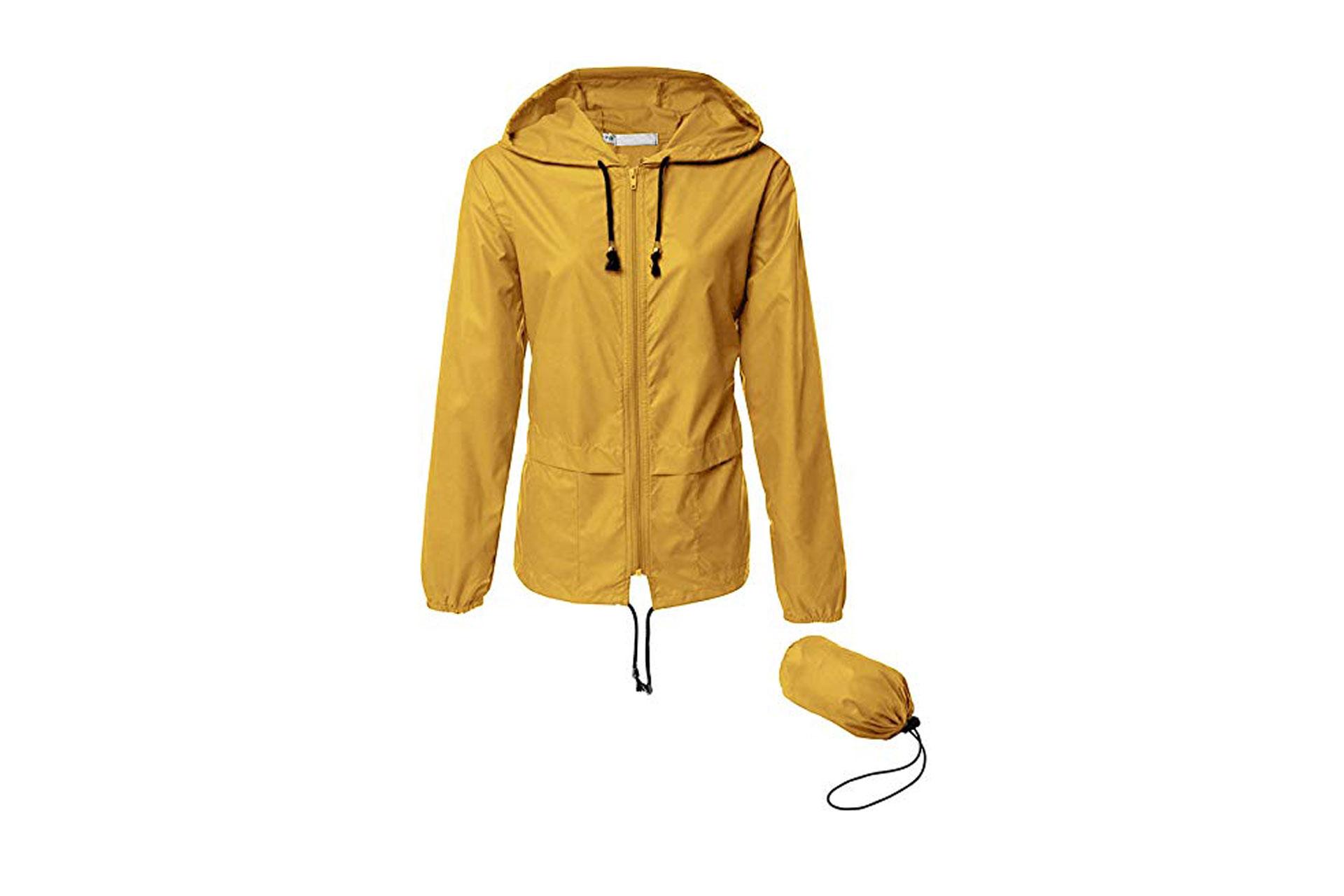 Rain Jacket; Courtesy of Amazon