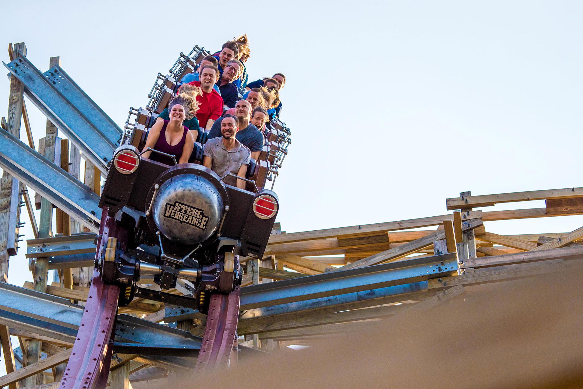 Steel Vengeance at Cedar Point; Courtesy of Cedar Point