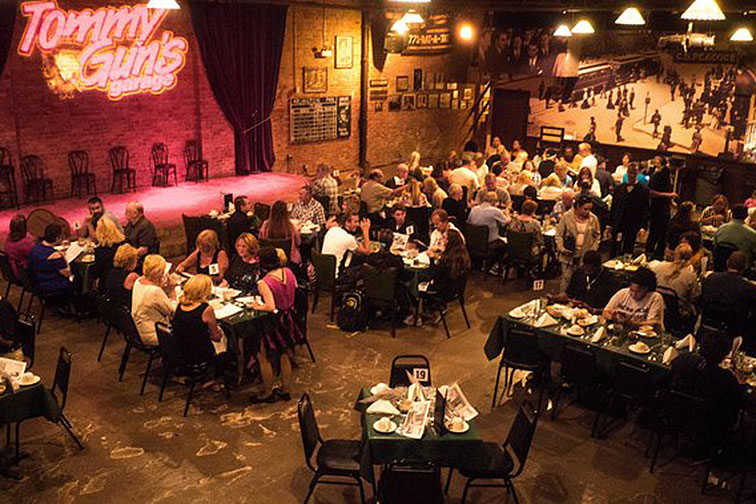 Tommy Guns Garage Dinner and Show; Courtesy of Viator