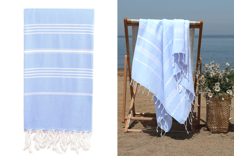 Lucky' Turkish Pestemal Towel; Courtesy of Nordstrom
