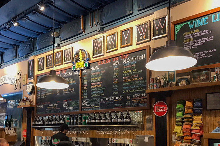 Russian River Brewing Company; Courtesy of TripAdvisor Traveler/mcdedrick