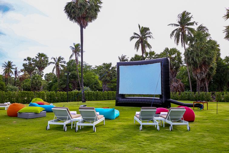 outdoor theater; Courtesy of pockethifi/Shutterstock