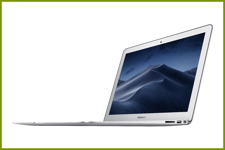 Apple – MacBook Air® – 13.3″ Display; Courtesy of Best Buy