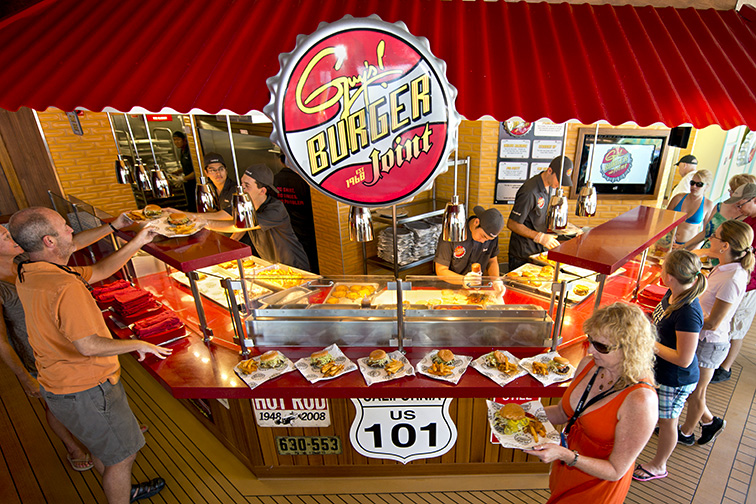 Guy's Burger Joint – Carnival Cruise Line