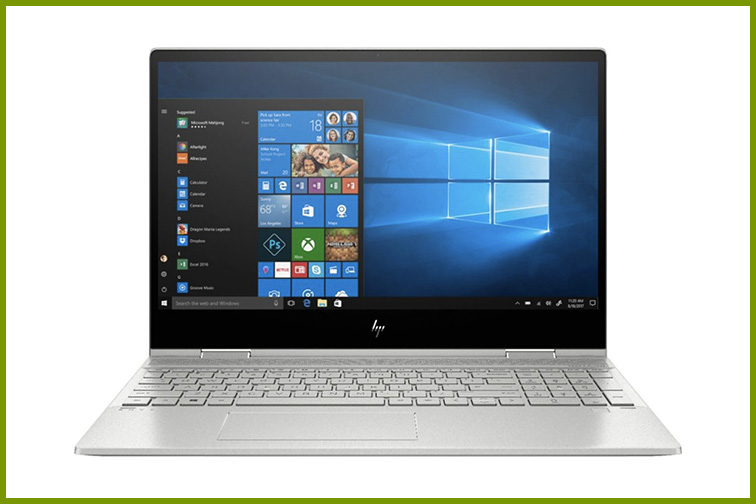 """HP - ENVY x360 2-in-1 15.6"""" Touch-Screen Laptop; Courtesy of Best Buy"""