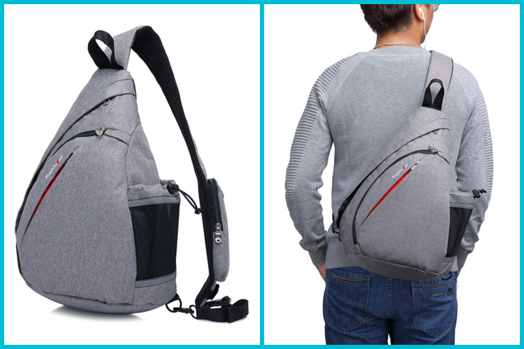 Magictodoor Sling Bag Travel Backpack; Courtesy of Amazon