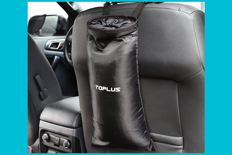 Toplus Car Trash Bag; Courtesy of Amazon