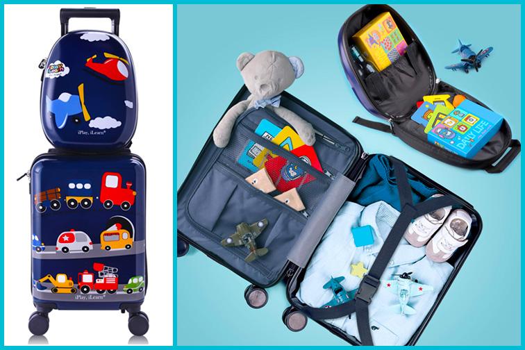 iPLay, iLearnKids Luggage Sets; Courtesy of Amazon