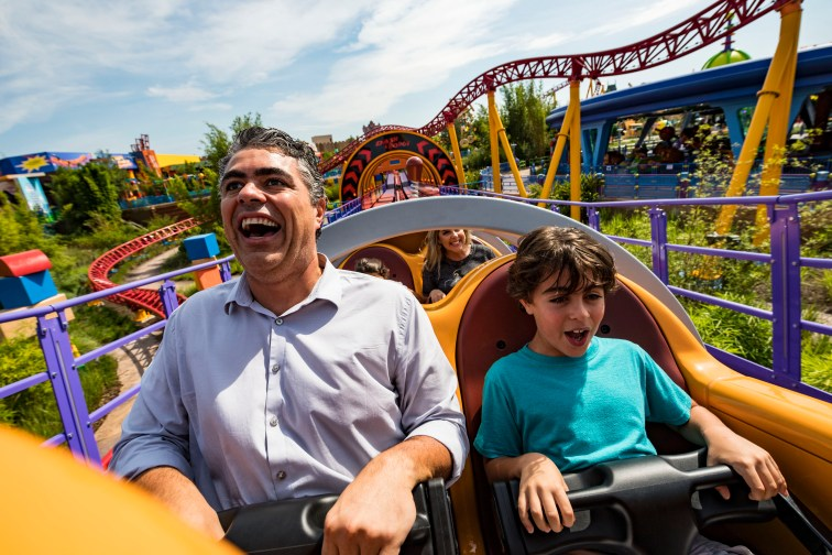 Slinky Dog Dash at Wild Disney World