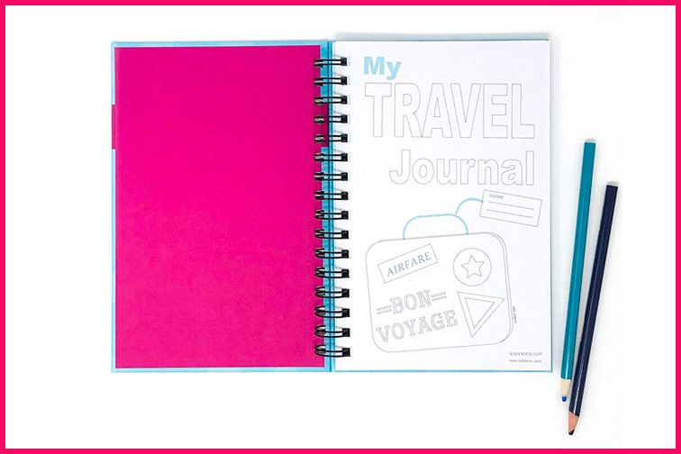 Travel Journal for Kids; Courtesy of Amazon