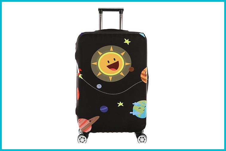 Fvstar Travel Luggage Cover; Courtesy of Amazon