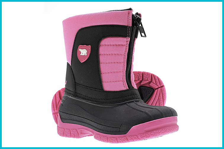 ArcticShield Kids Waterproof Winter Snow Boots; Courtesy of Amazon
