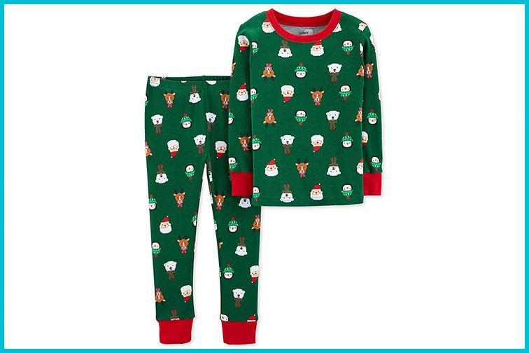Carter's Toddler Boys Holiday Christmas Pajamas; Courtesy of Amazon