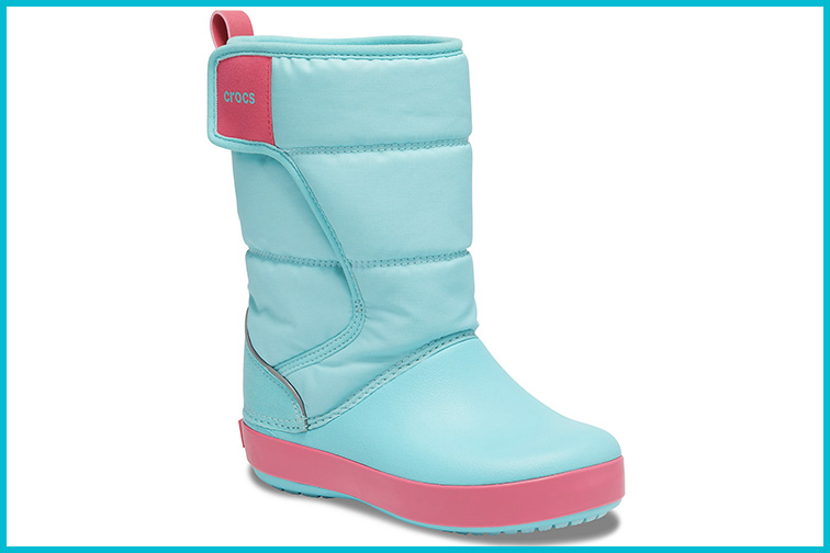 Crocs Kids' Lodgepoint Snow Boot; Courtesy of Crocs