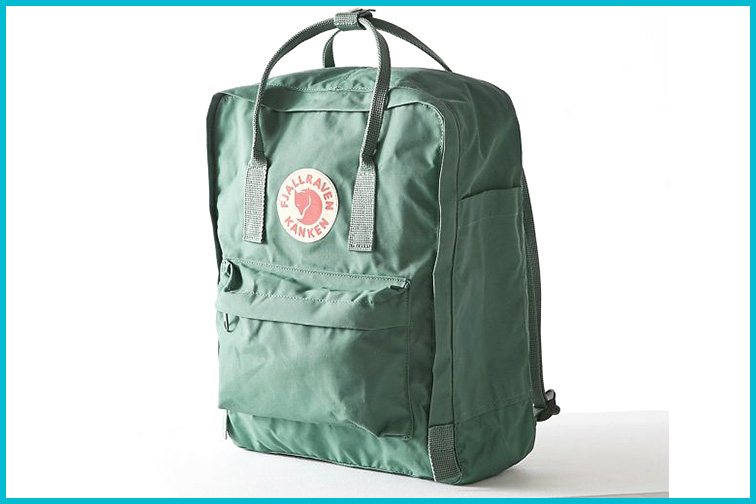 Fjallraven Kanken Backpack; Courtesy of Urban Outfitters
